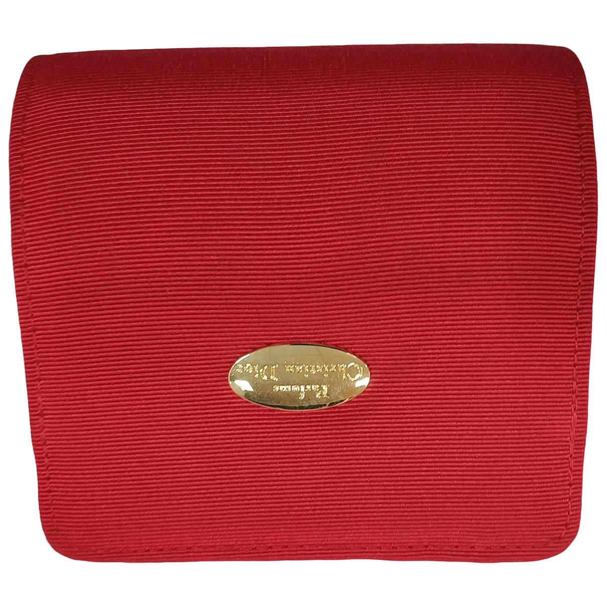 Christian Dior - Petite maroquinerie   pour femme - rouge