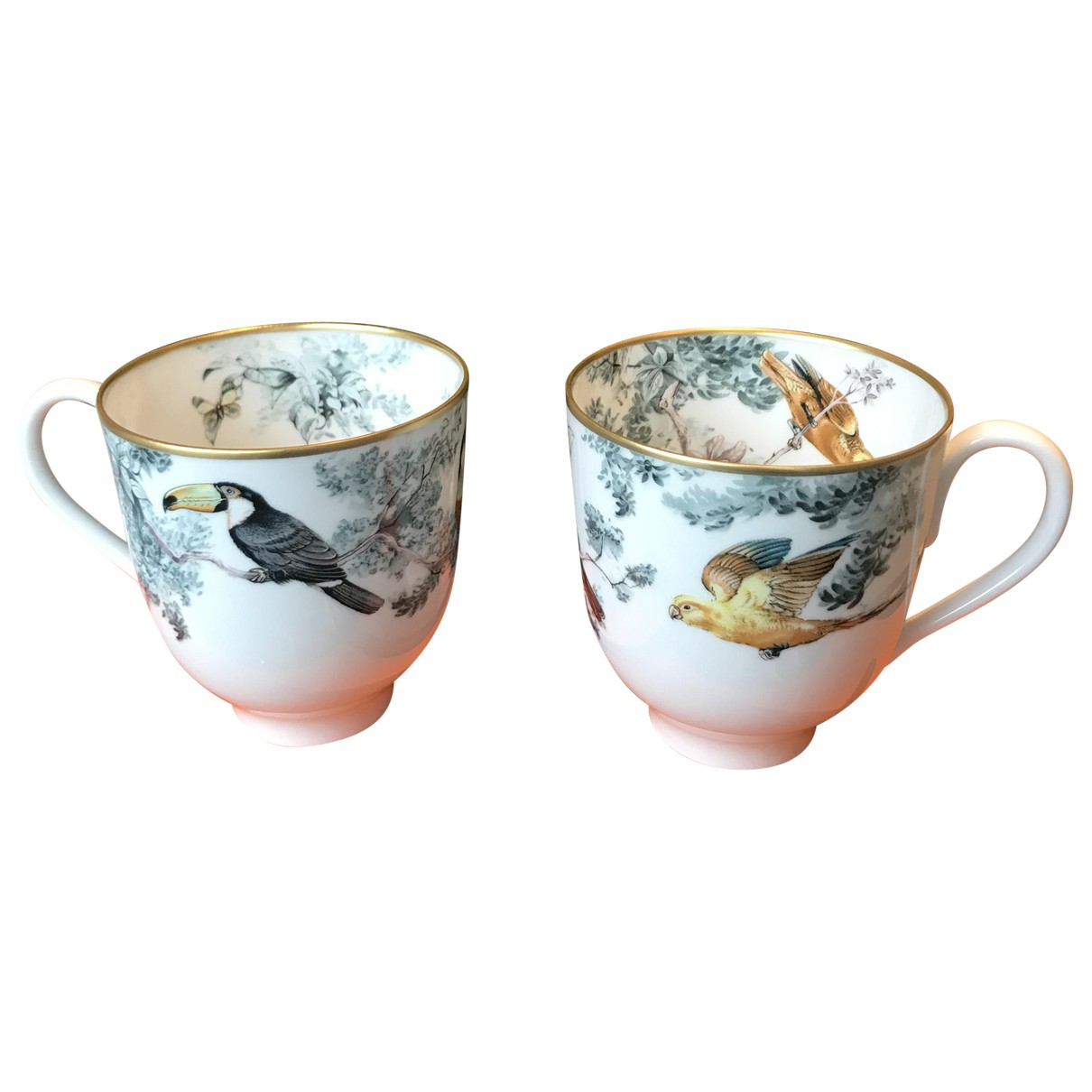 Juego de te/cafe Carnets dEquateur de Porcelana Hermes