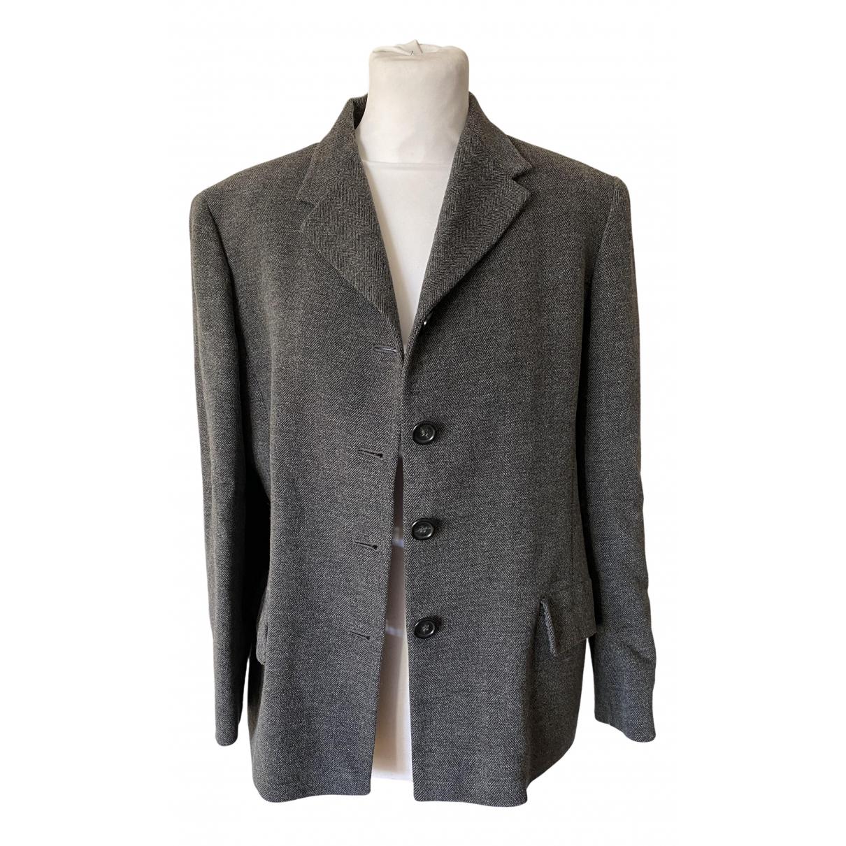 Max Mara N Grey Wool jacket for Women 46 IT