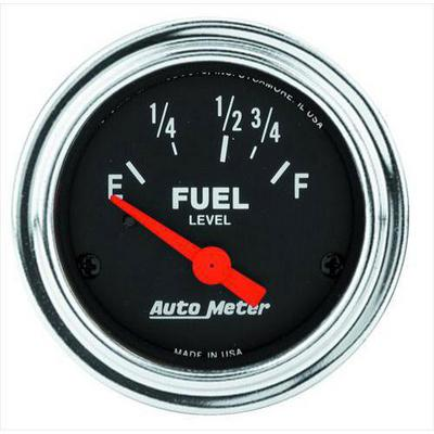 Auto Meter Traditional Chrome Electric Fuel Level Gauge - 2518