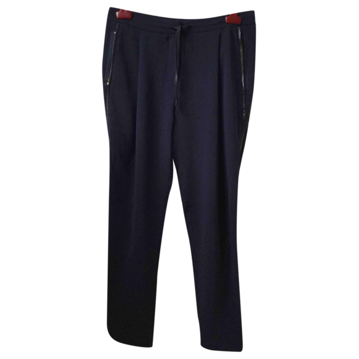 Calvin Klein N Navy Trousers for Women S International