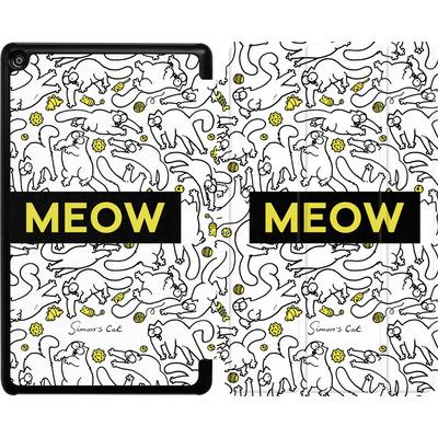 Amazon Fire HD 8 (2017) Tablet Smart Case - Meow von Simons Cat
