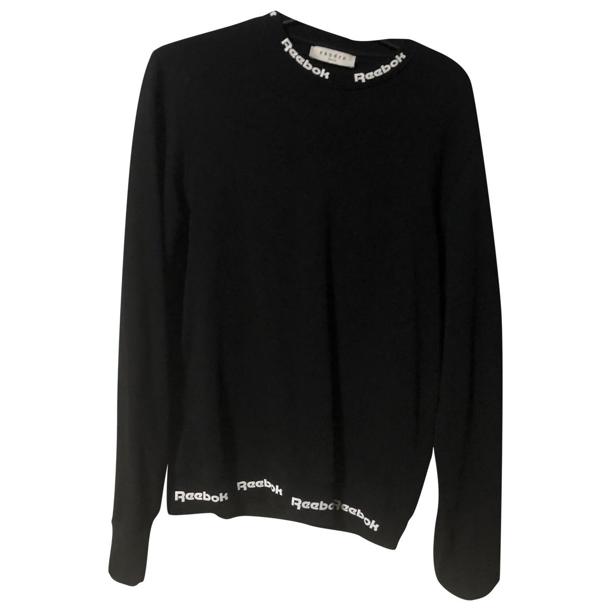 Sandro \N Black Cotton Knitwear & Sweatshirts for Men S International