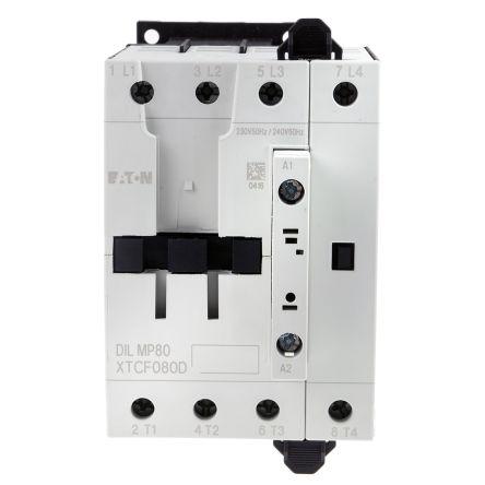 Eaton 4 Pole Contactor - 80 A, 230 V ac Coil, xStart, 4NO, 22 kW