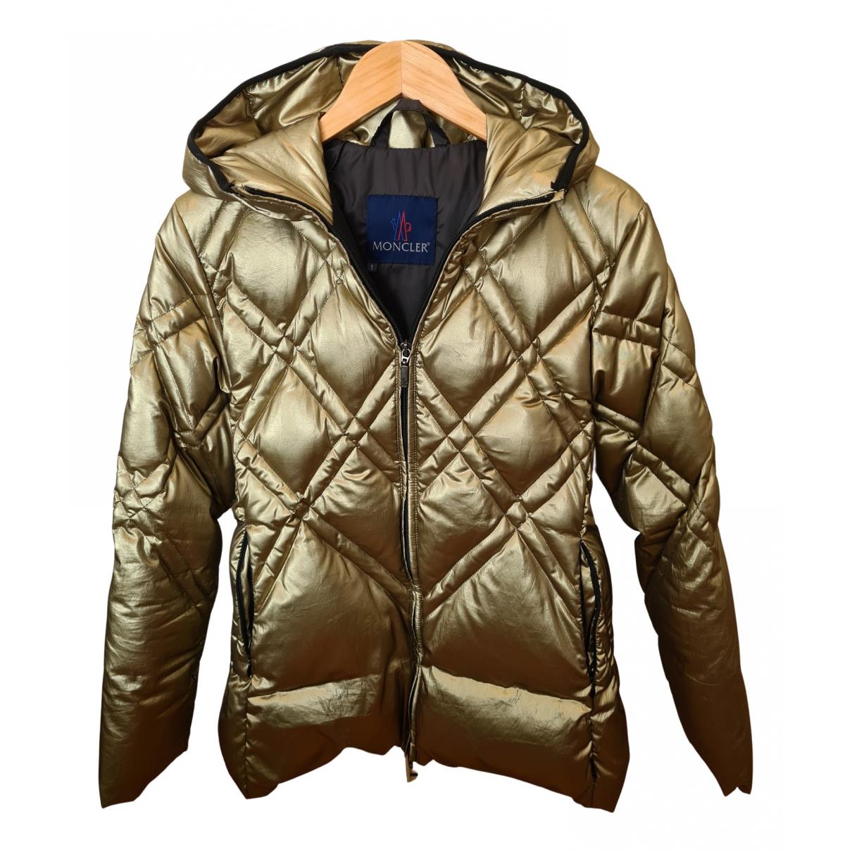 Moncler - Manteau Classic pour femme - dore