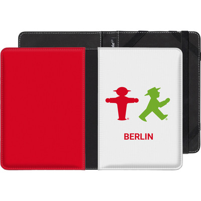 Amazon Kindle Touch eBook Reader Huelle - Green and Red von AMPELMANN
