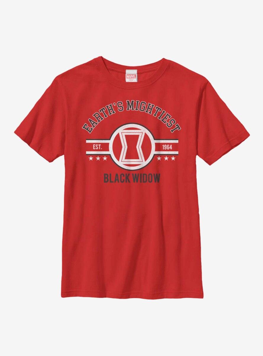 Marvel Black Widow Mighty Widow Youth T-Shirt