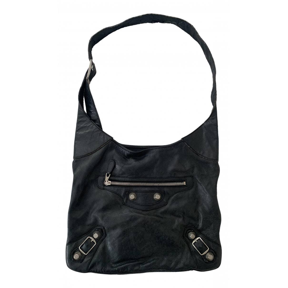 Balenciaga \N Black Leather handbag for Women \N