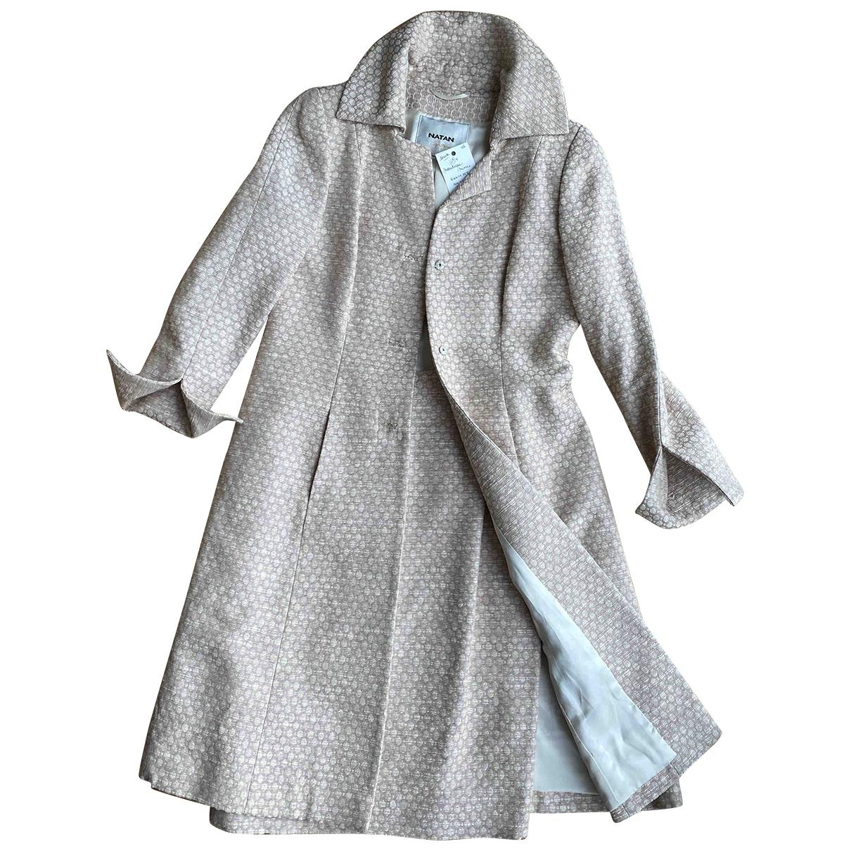 Natan \N Pink Silk coat for Women 42 IT