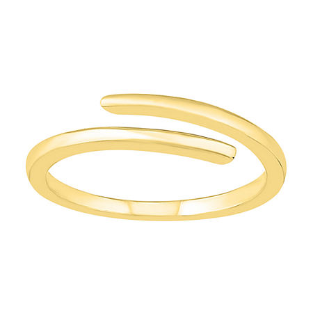 4MM 10K Gold Round Band, 4 , No Color Family