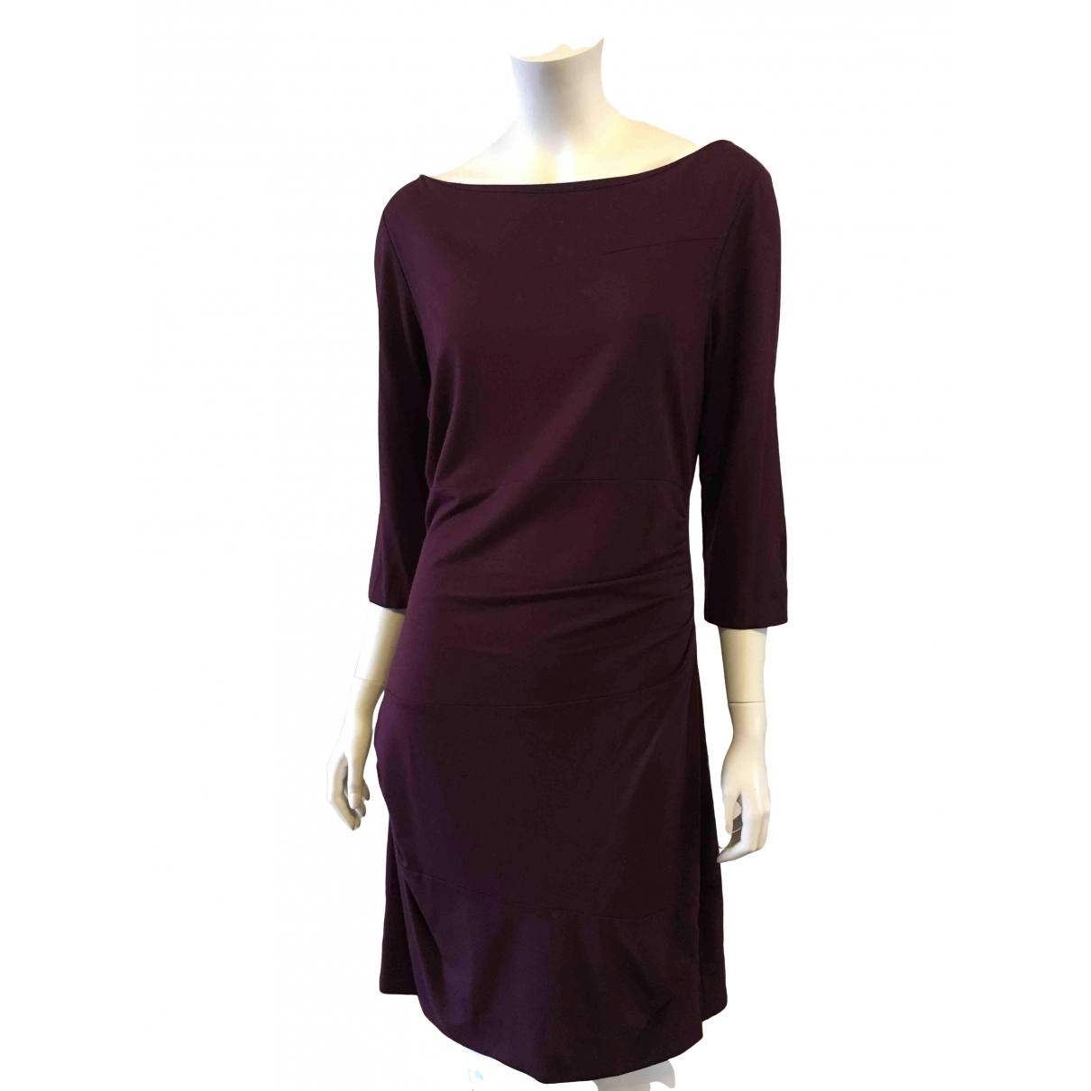 Diane Von Furstenberg \N Purple dress for Women 14-16 US