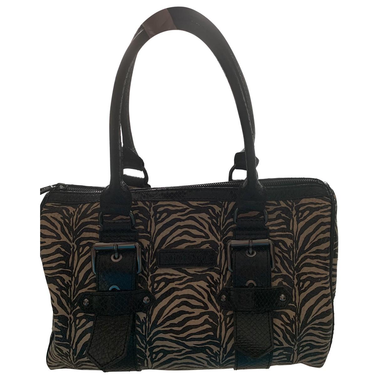 Longchamp Kate Moss Handtasche in  Schwarz Echse