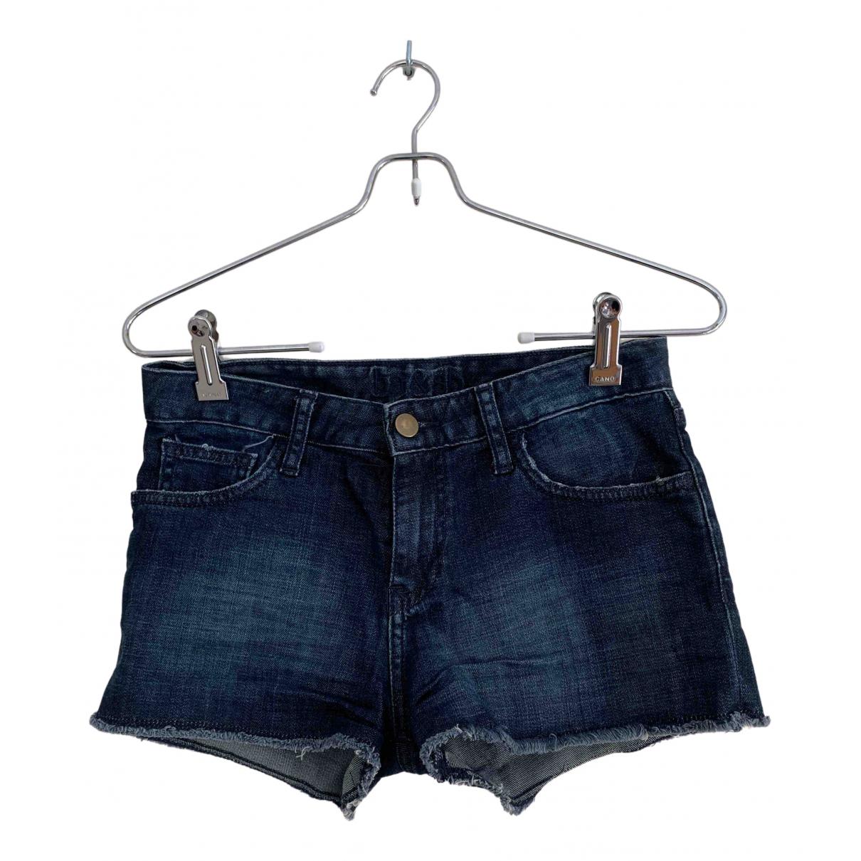 Ba&sh \N Shorts in  Blau Baumwolle