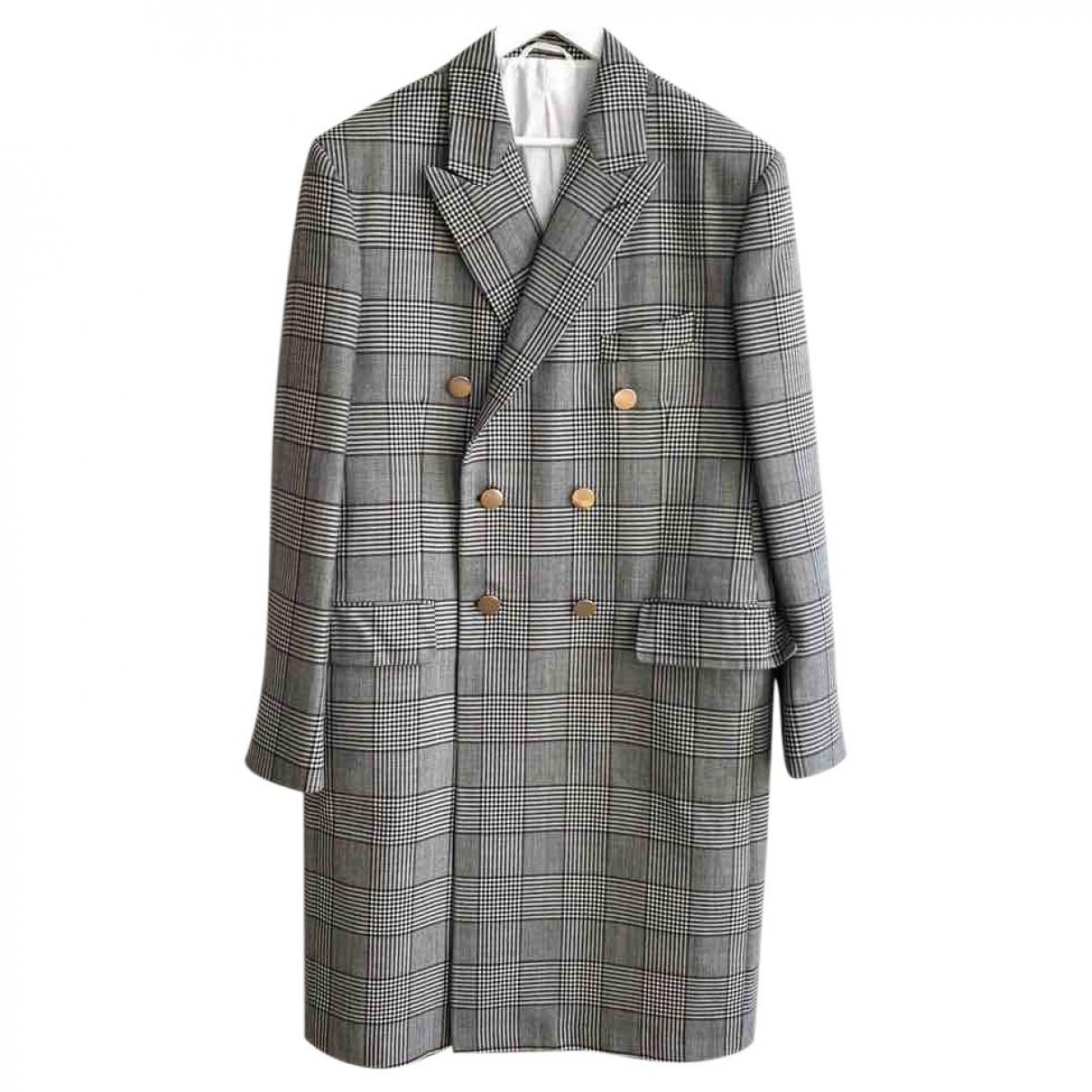 Calvin Klein 205w39nyc - Manteau   pour homme en laine - gris