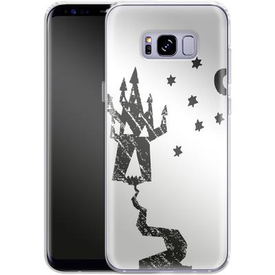 Samsung Galaxy S8 Plus Silikon Handyhuelle - Haunted House von caseable Designs
