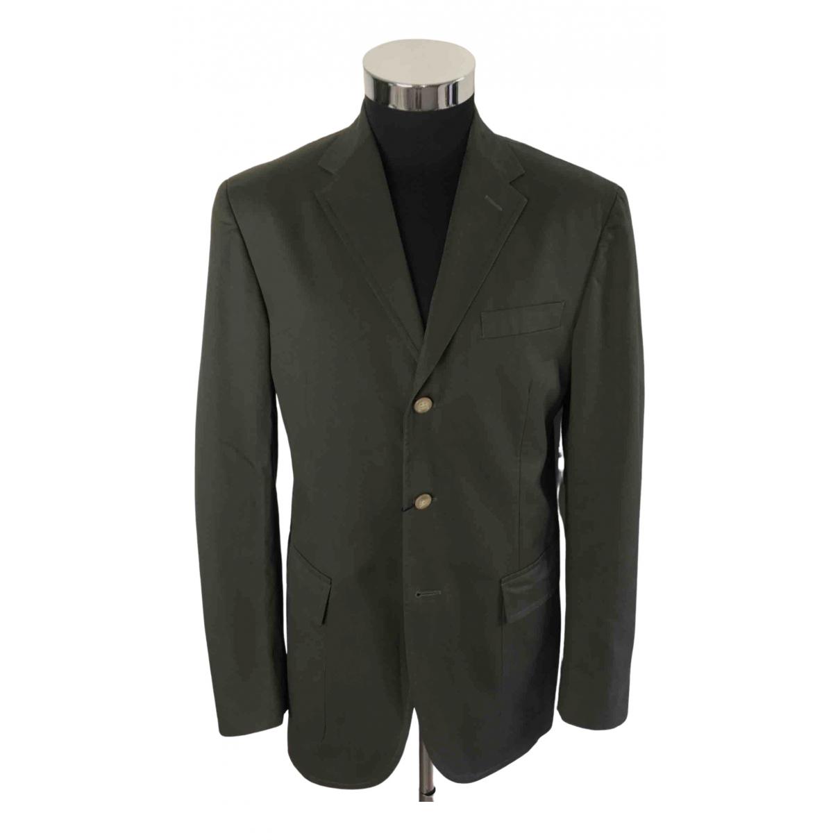 Polo Ralph Lauren - Vestes.Blousons   pour homme en coton - vert