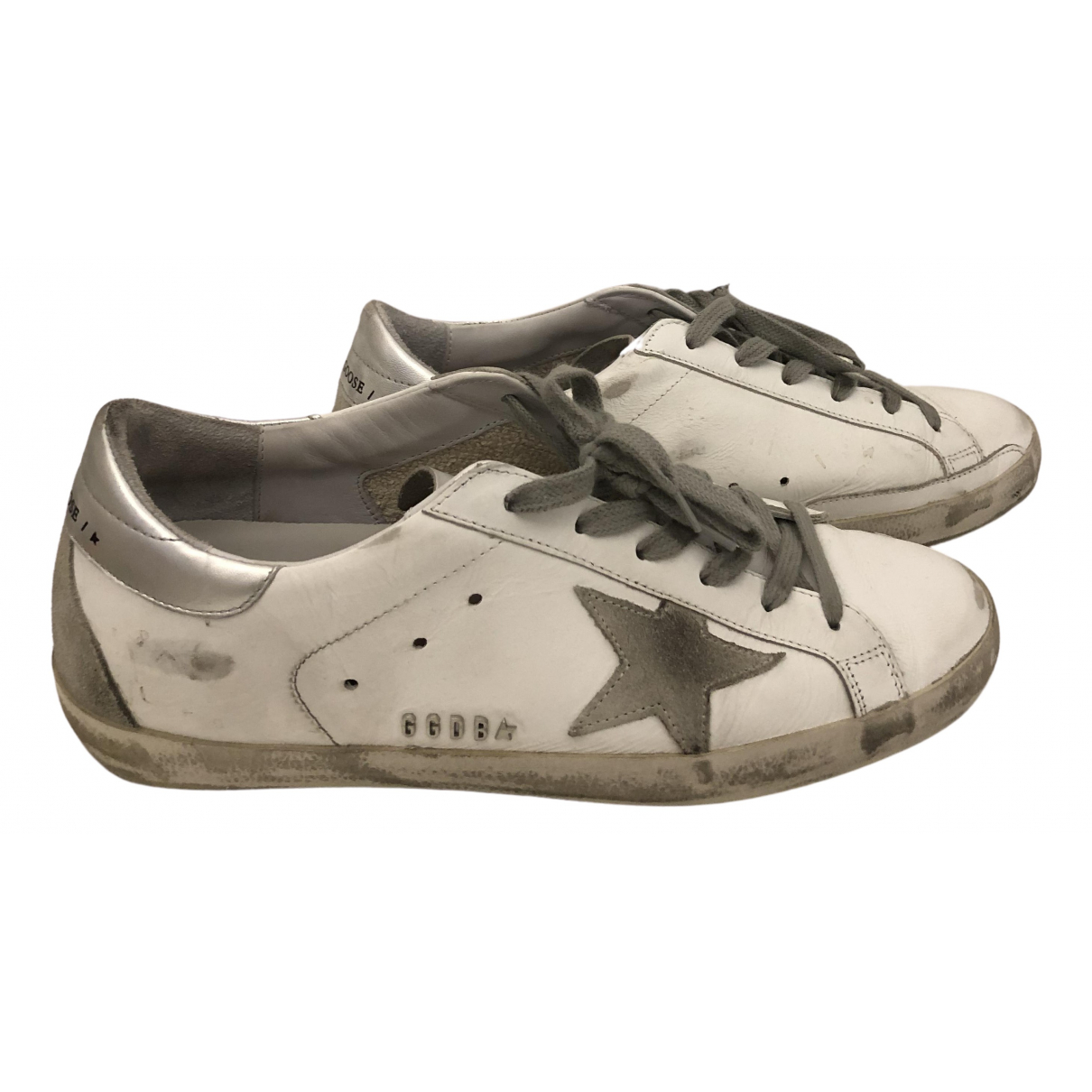 Golden Goose Superstar White Leather Trainers for Women 40 EU