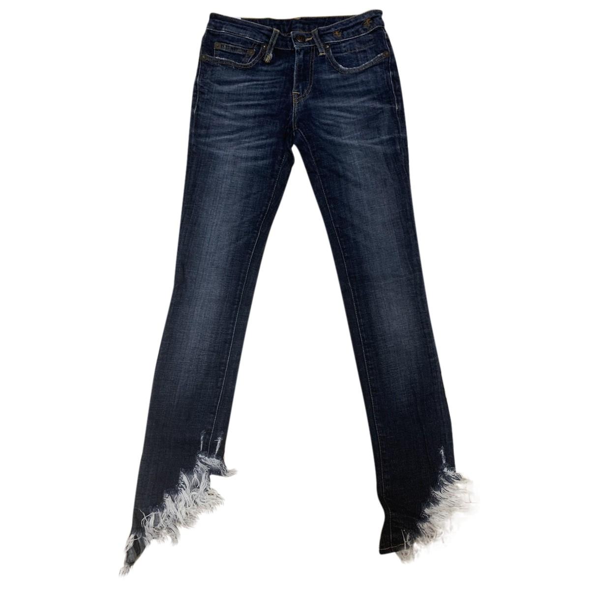 R13 - Jean   pour femme en denim - bleu