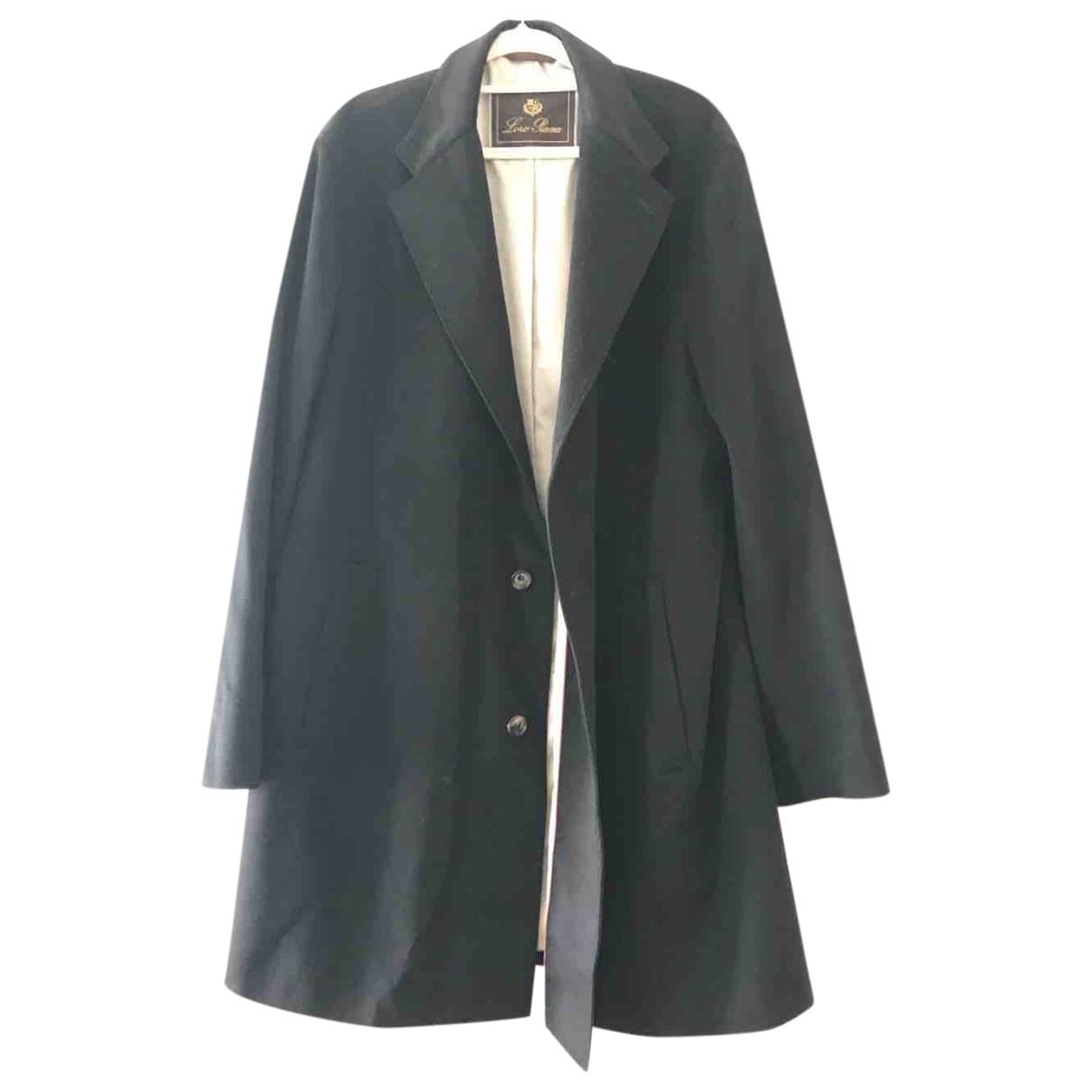 Loro Piana \N Black Cashmere coat  for Men XXL International