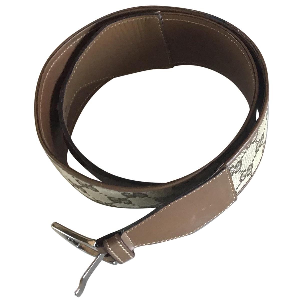 Gucci \N Brown Cloth belt for Women S International
