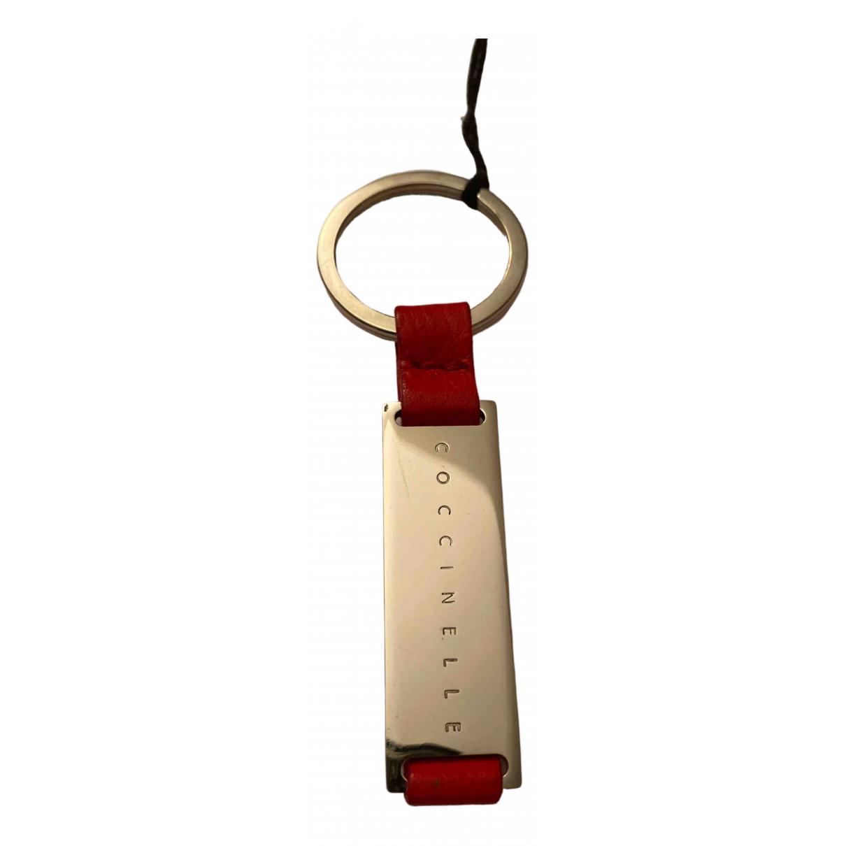 Coccinelle - Petite maroquinerie   pour homme en cuir - rouge