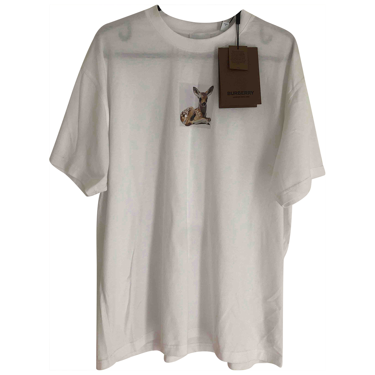 Burberry \N T-Shirts in  Weiss Baumwolle