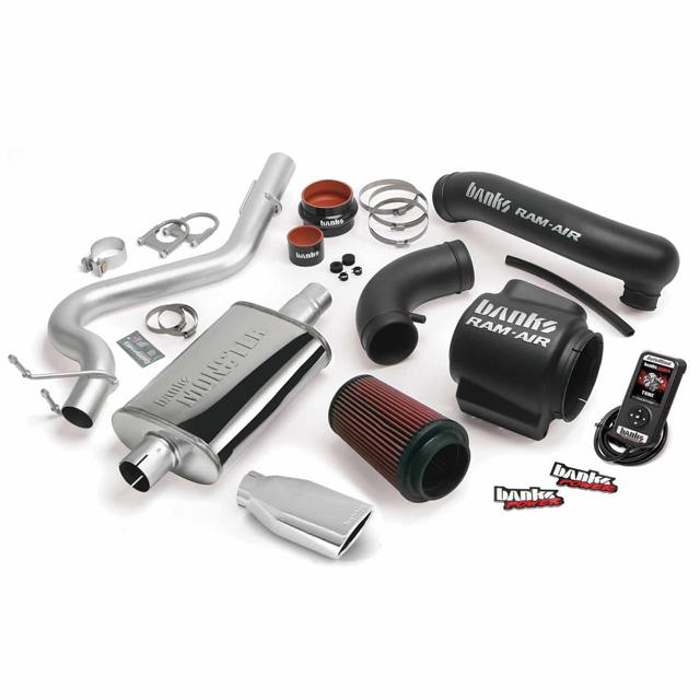 Stinger Bundle Power System 04-06 Jeep 4.0L Wrangler Unlimited Banks Power 51336