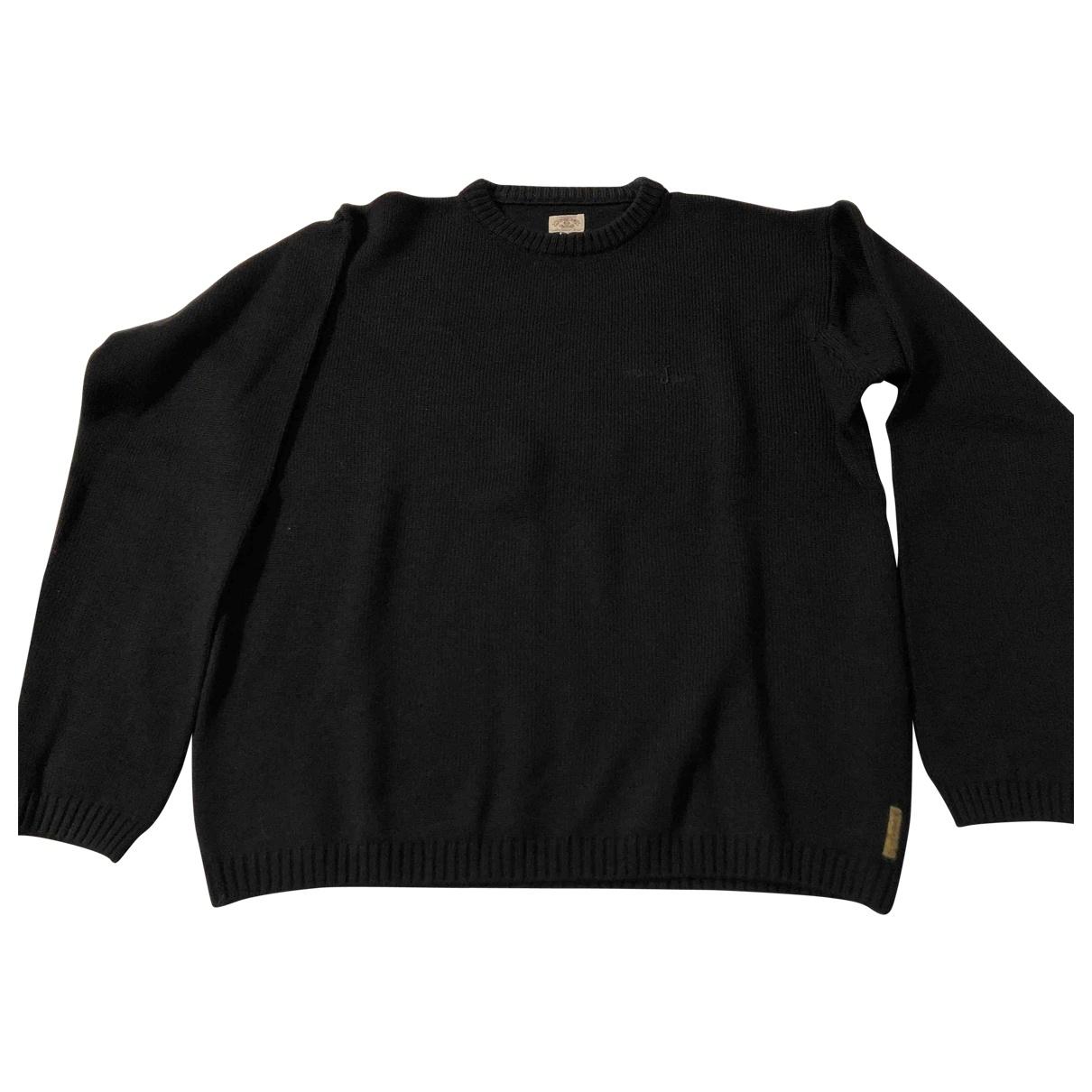Armani Jeans \N Pullover.Westen.Sweatshirts  in  Schwarz Wolle