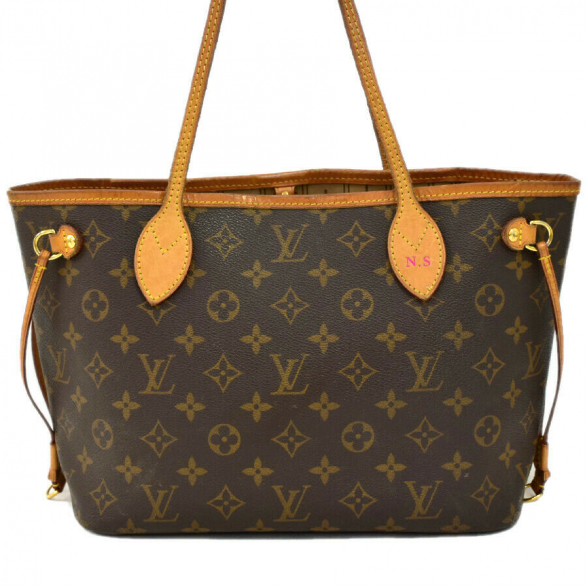 Louis Vuitton N Brown Leather handbag for Women N