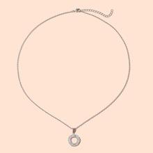 Halskette mit Ring Anhaenger