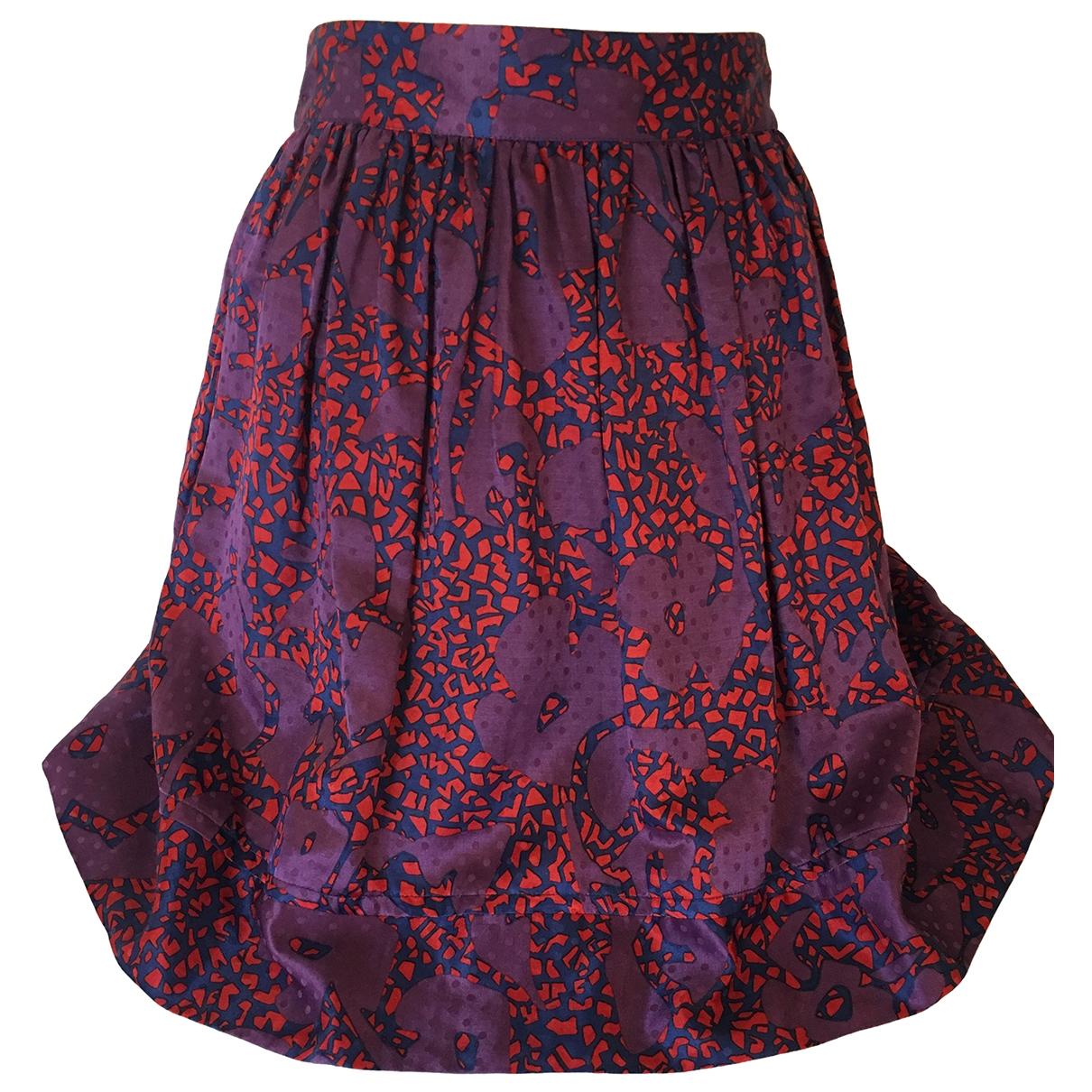 See By Chloé \N Purple Silk skirt for Women 44 IT