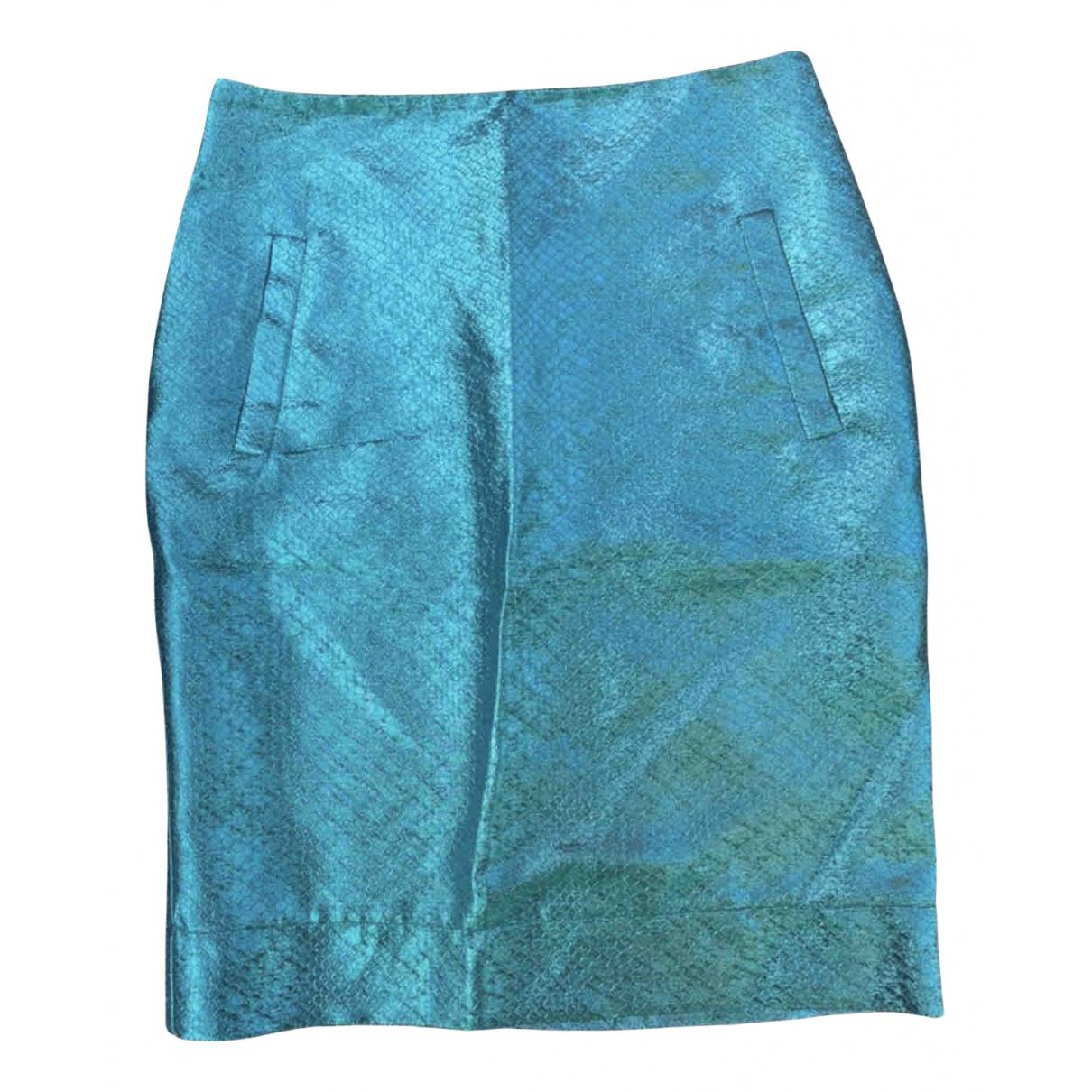 Essentiel Antwerp - Jupe   pour femme en a paillettes - bleu