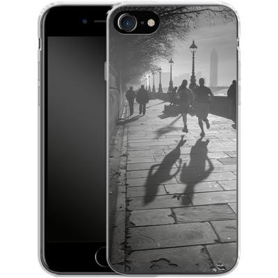 Apple iPhone 8 Silikon Handyhuelle - Walk If You Must von Ronya Galka