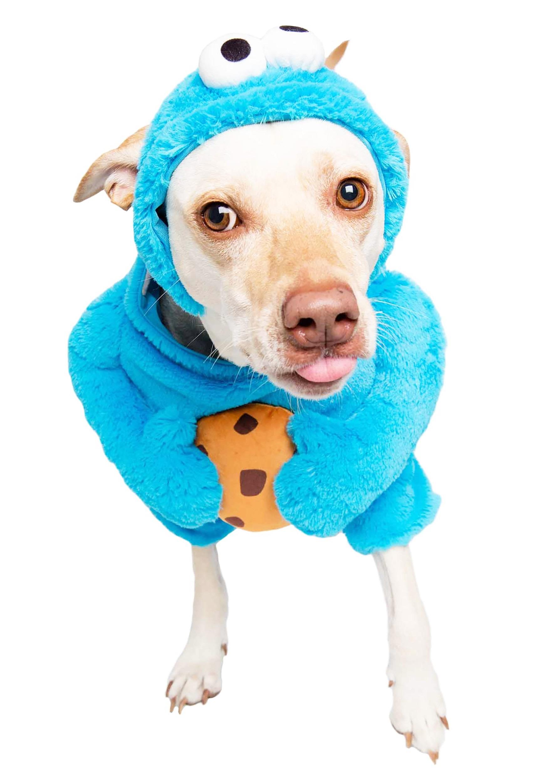 Sesame-Street Cookie Monster Pet Costume