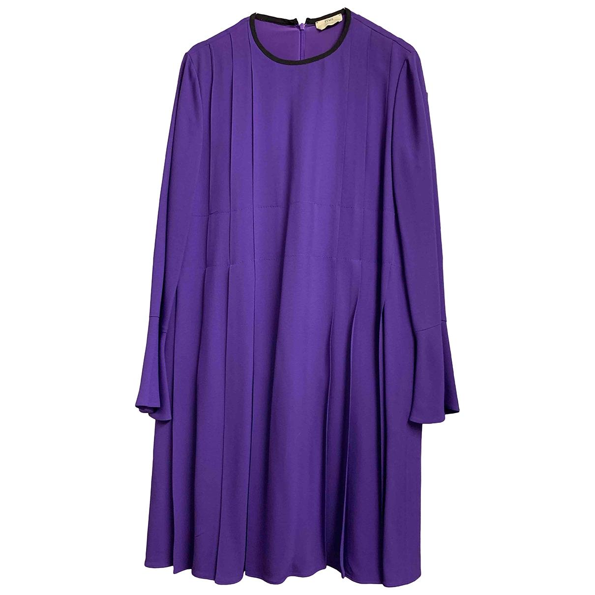 Fendi - Robe   pour femme - violet