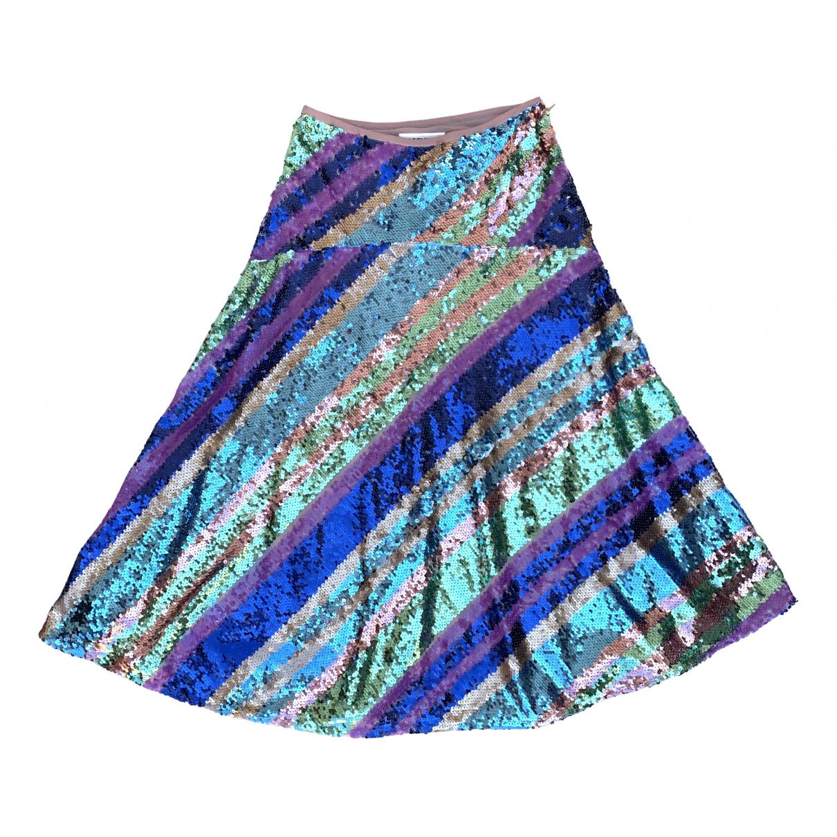 Essentiel Antwerp \N Multicolour Glitter skirt for Women 34 FR