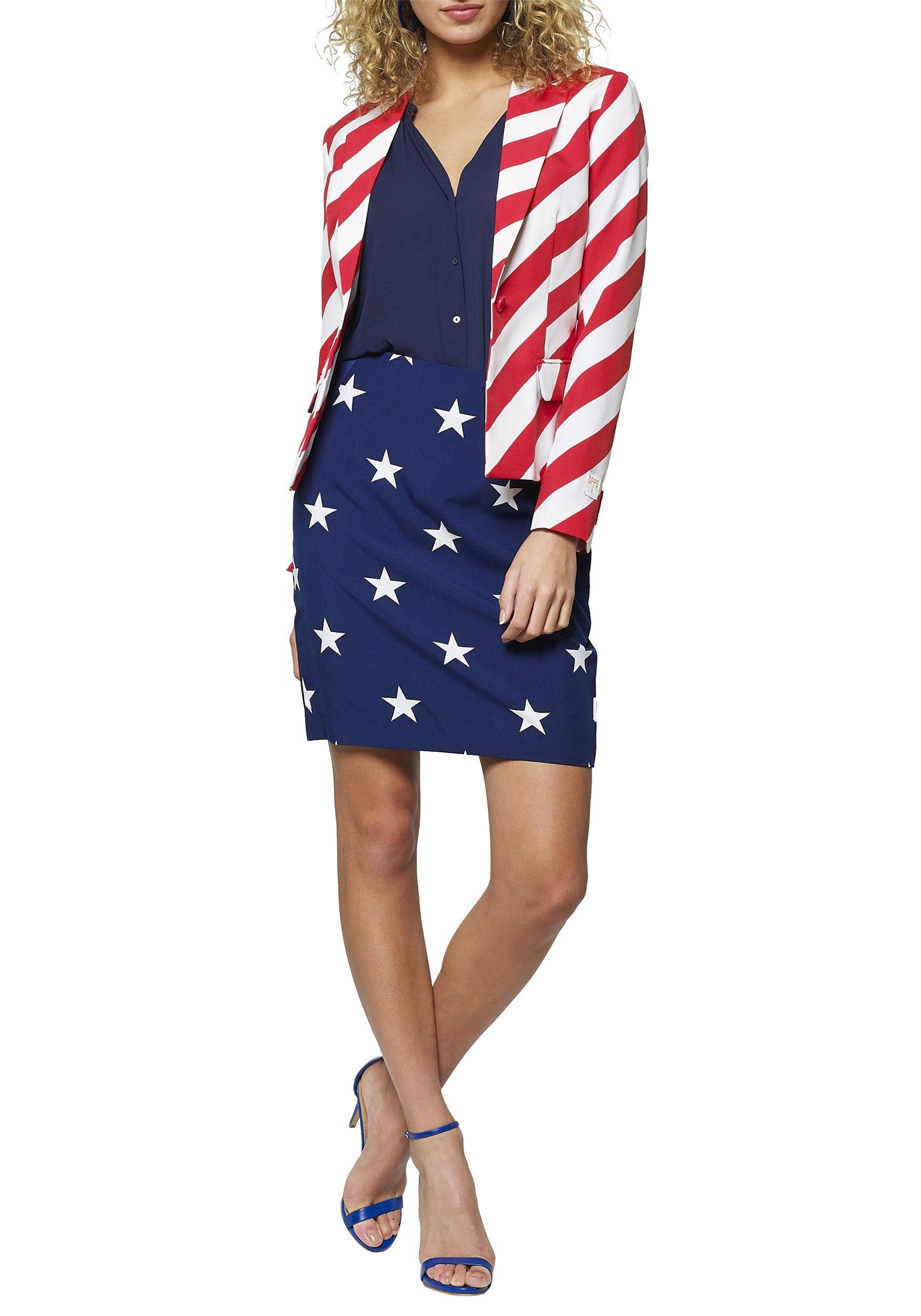 Stars and Stripes Women's OppoSuit
