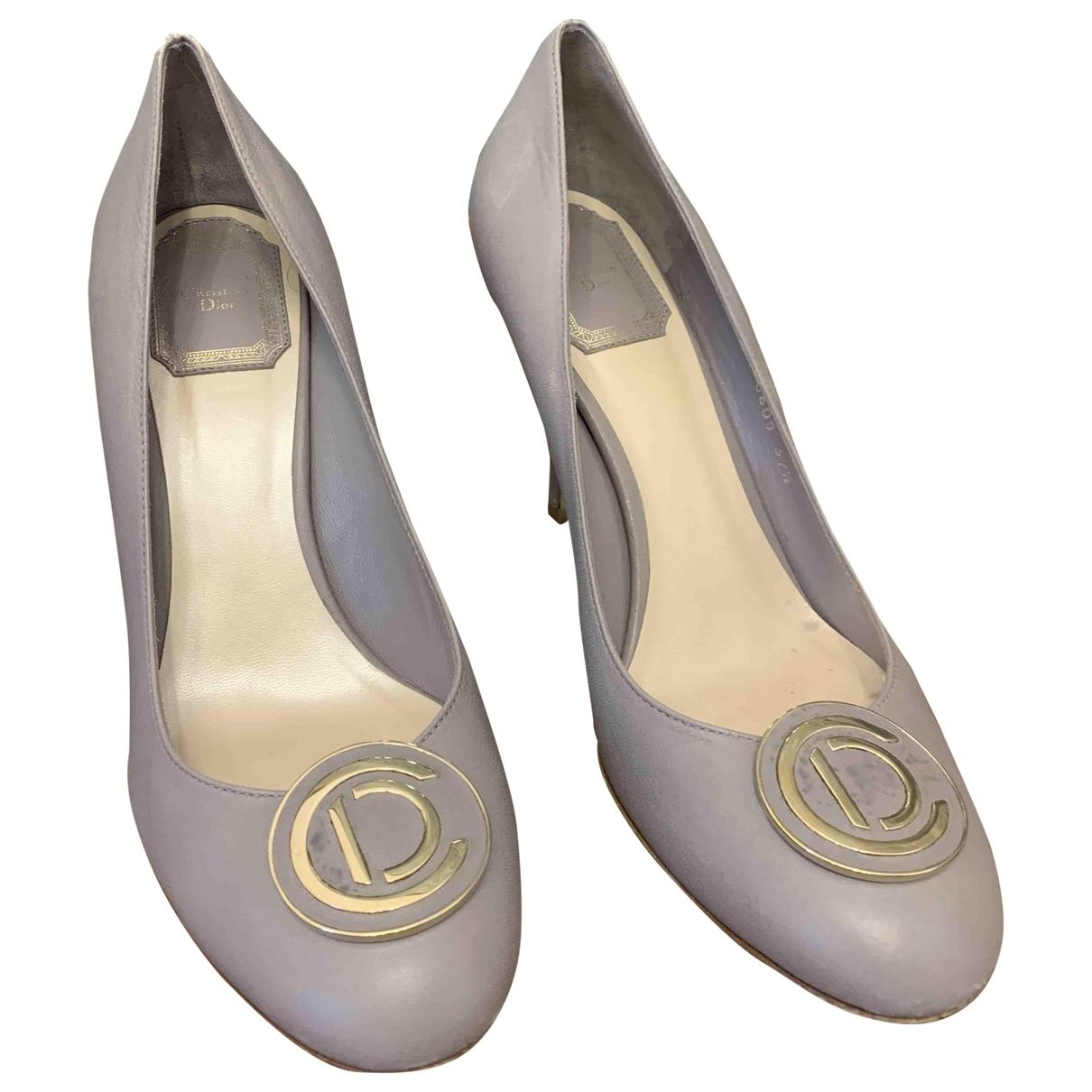 Dior \N Pumps in  Grau Leder