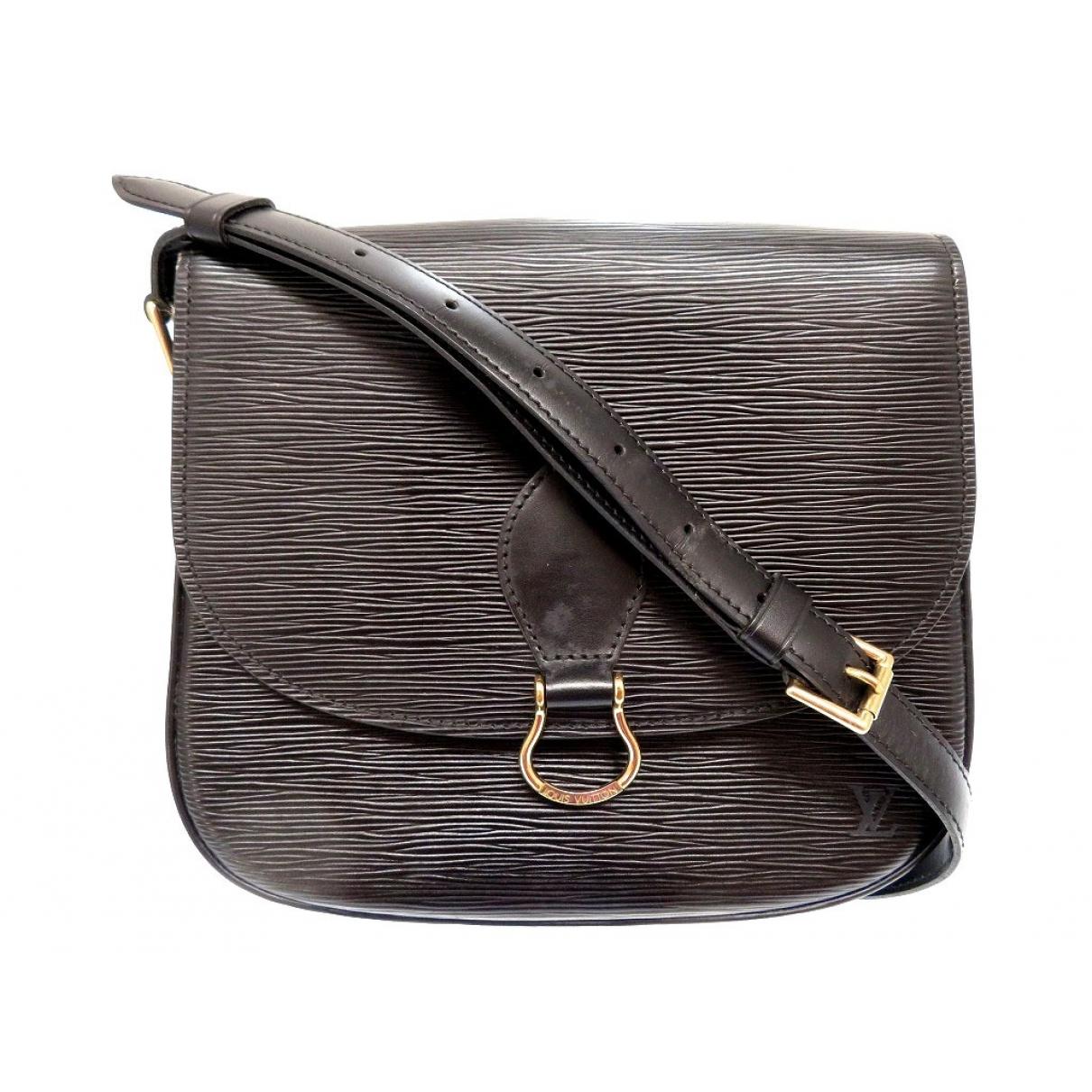 Bolso  Saint Cloud vintage de Cuero Louis Vuitton