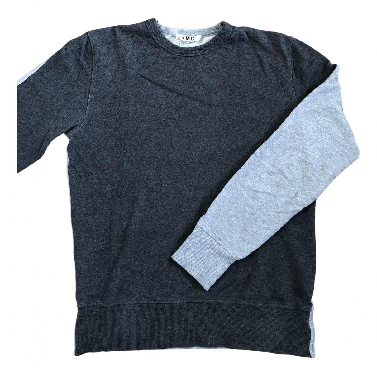 Ymc \N Pullover.Westen.Sweatshirts  in  Grau Baumwolle