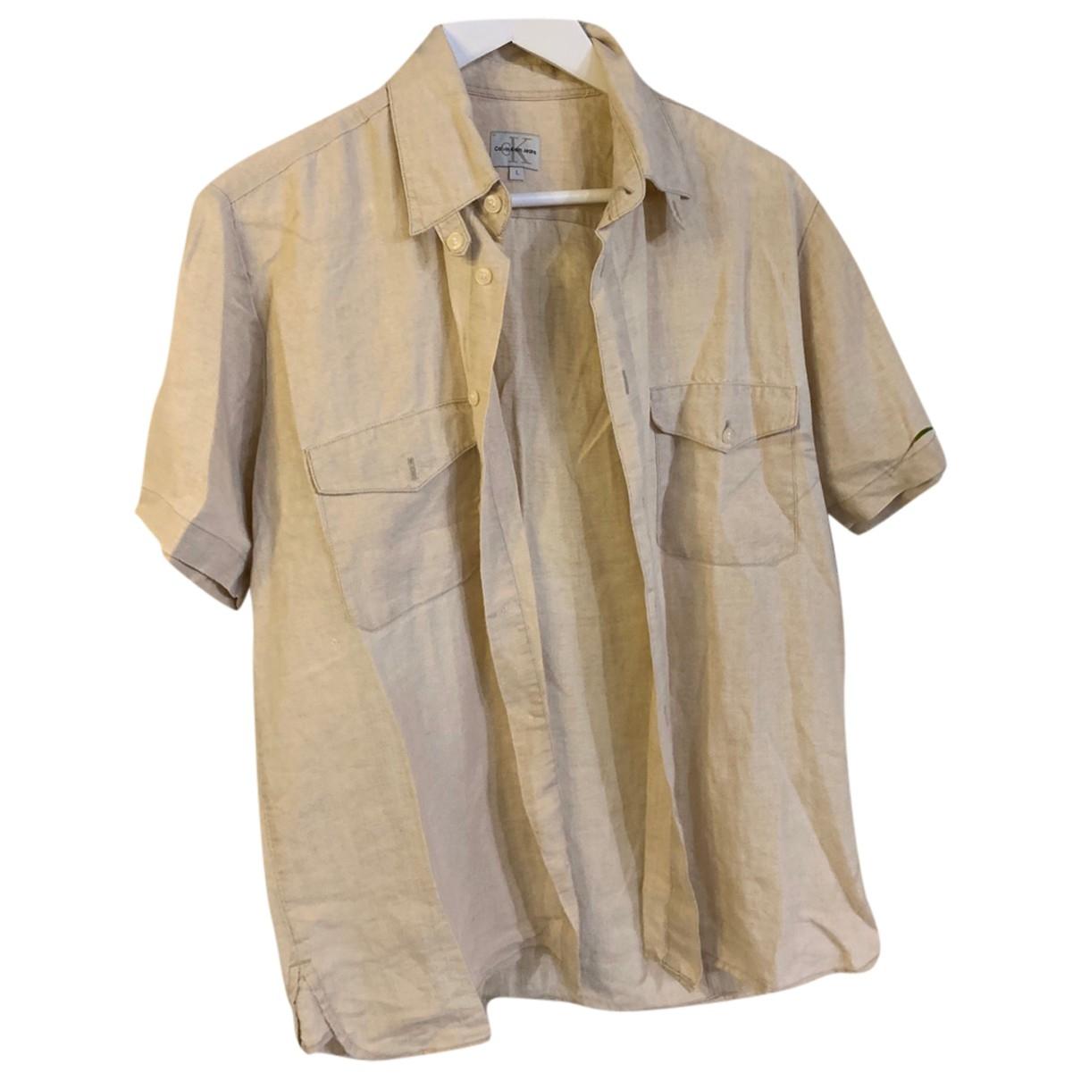 Camisas de Lino Calvin Klein