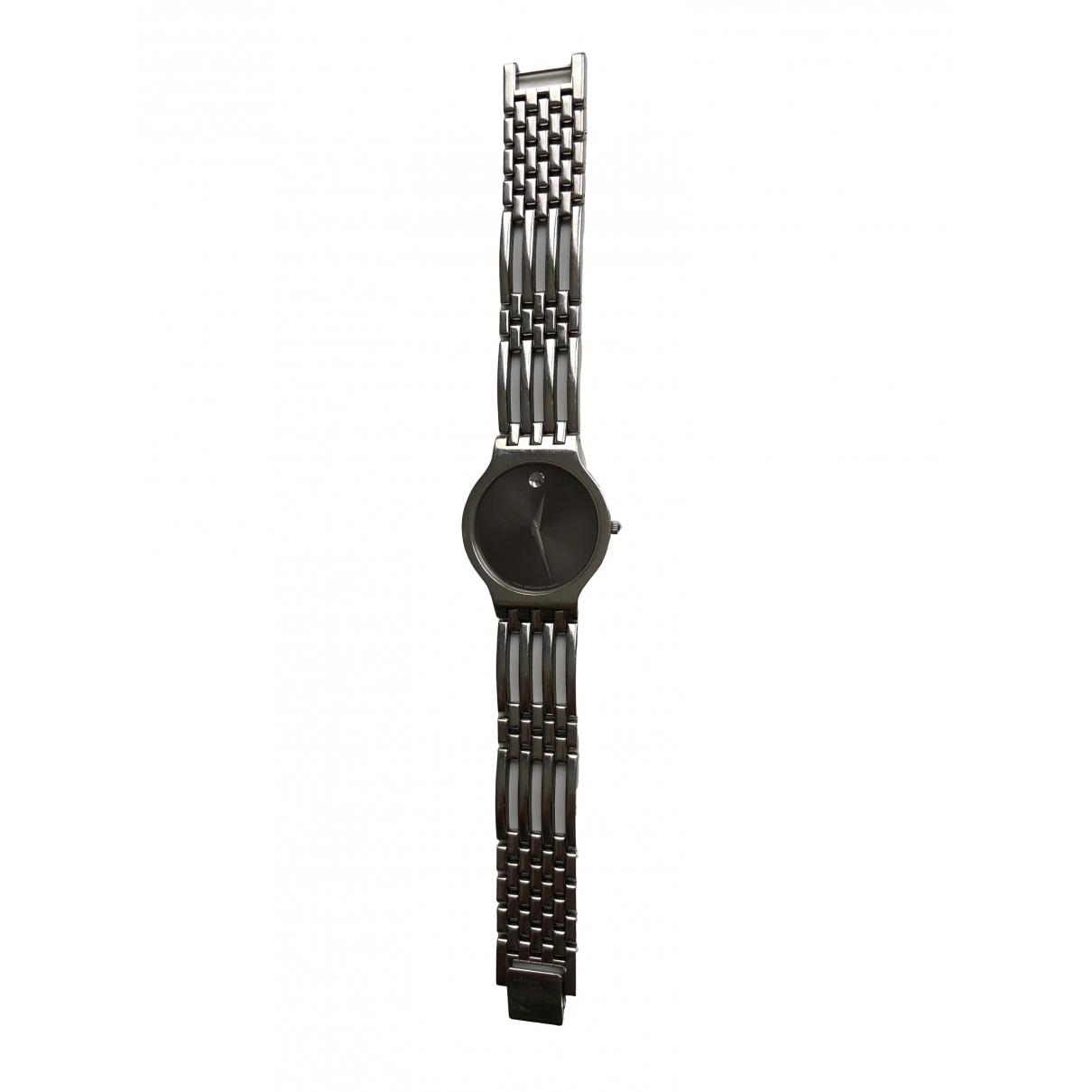 Movado \N Uhr in  Silber Stahl