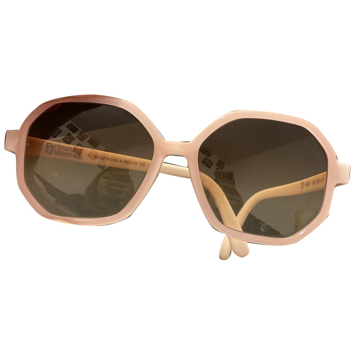 Gafas oversize Emmanuelle Khanh
