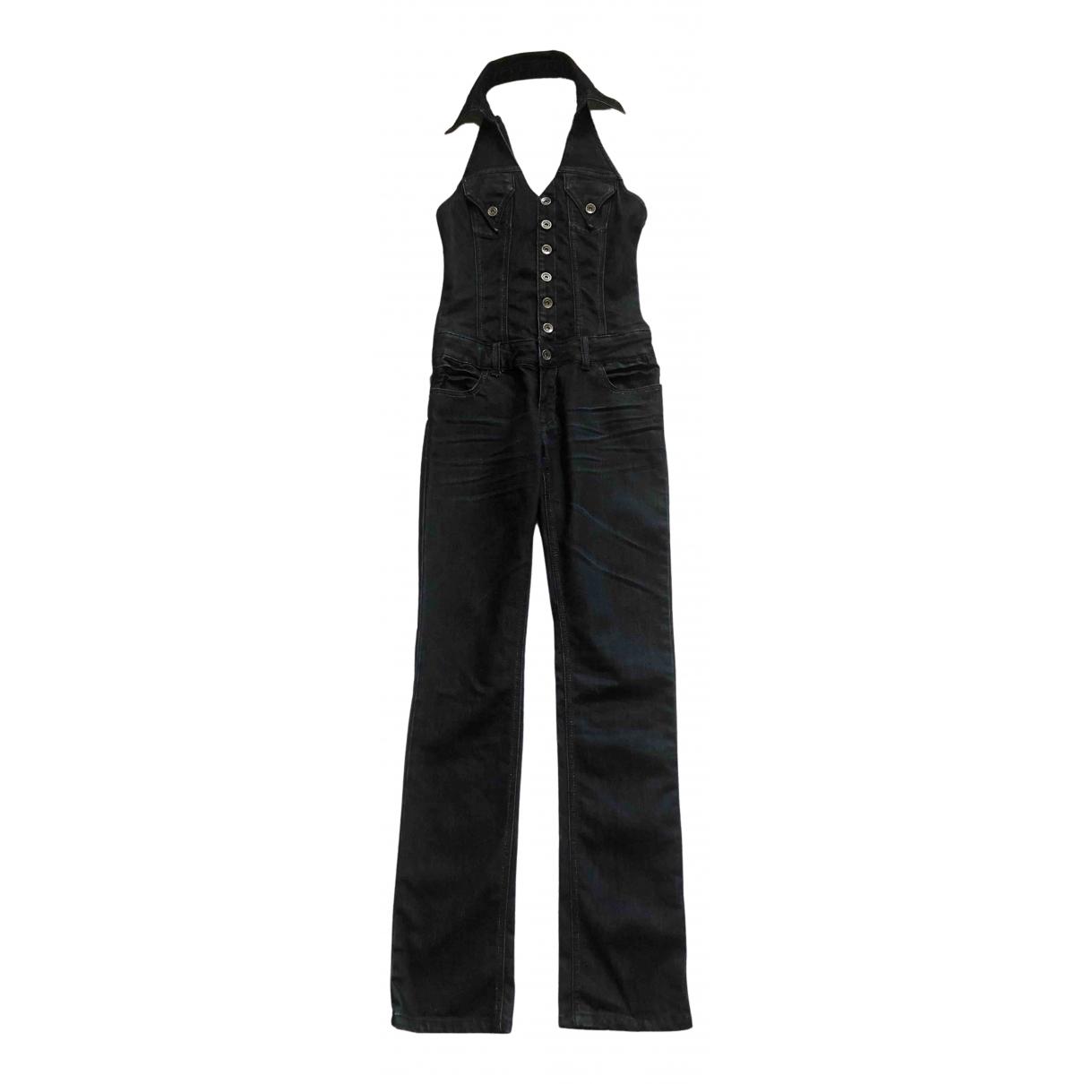 Non Signé / Unsigned N Blue Denim - Jeans jumpsuit for Women S International