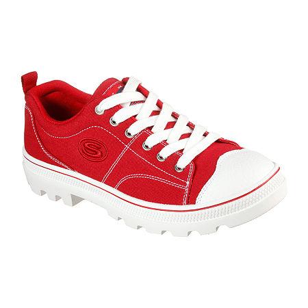 Skechers Roadies - True Roots Womens Sneakers, 7 1/2 Medium, Red