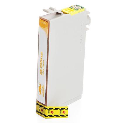 Epson 802 T802XL420-S cartouche d'encre compatible jaune haute capacit� - Moustache�
