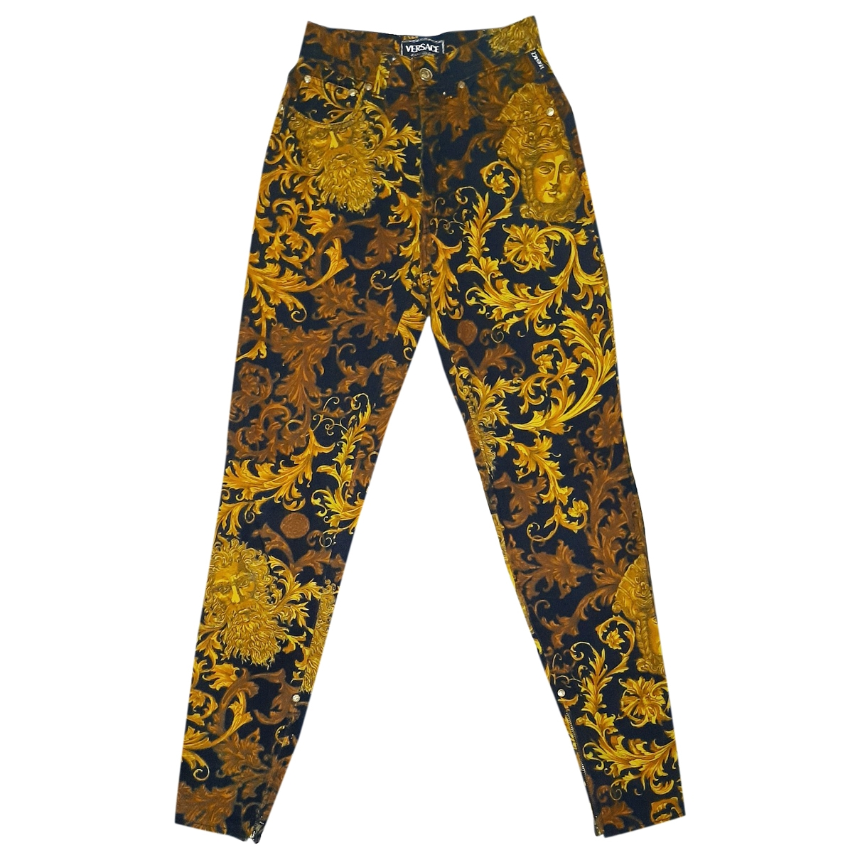 Versace Jeans \N Gold Denim - Jeans Jeans for Women 24 US