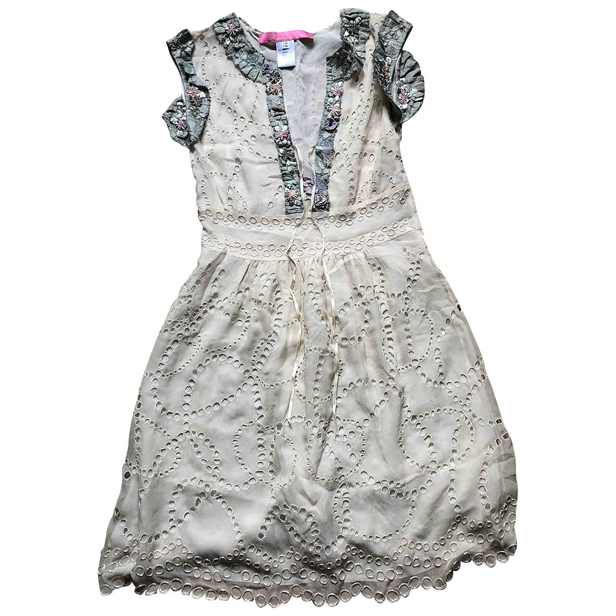 Blumarine \N Kleid in Seide