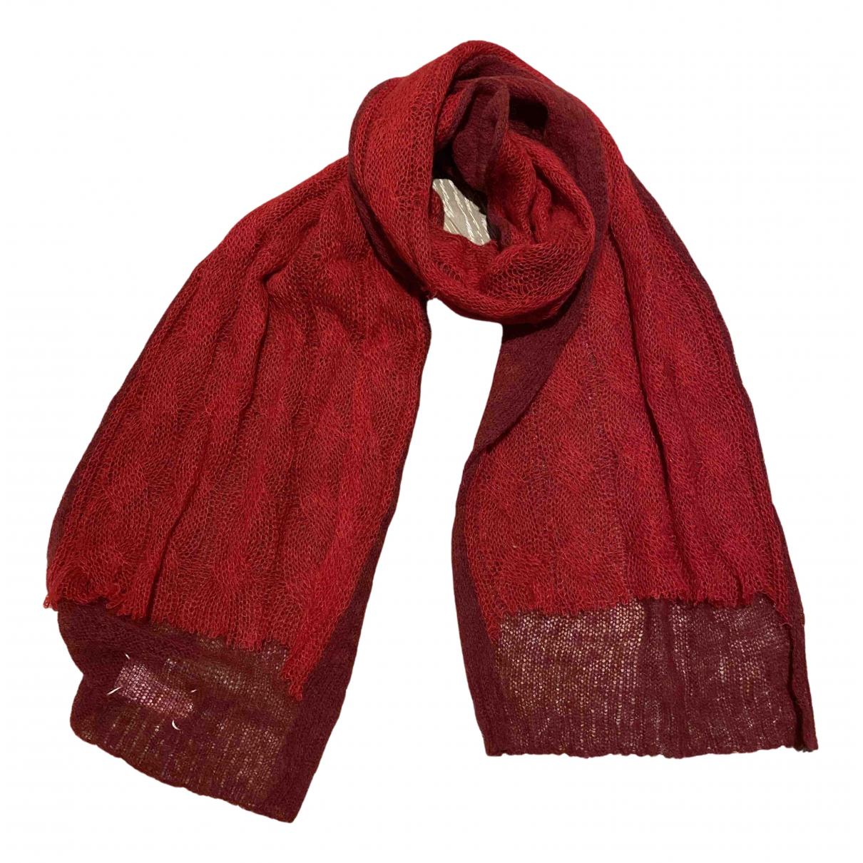 Maison Martin Margiela \N Schal in  Rot Wolle