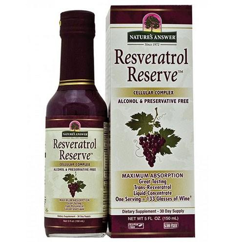 Resveratrol Reserve Liquid 5 oz by Nature's Answer
